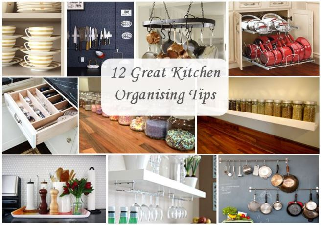 12 great kitchen organising tips
