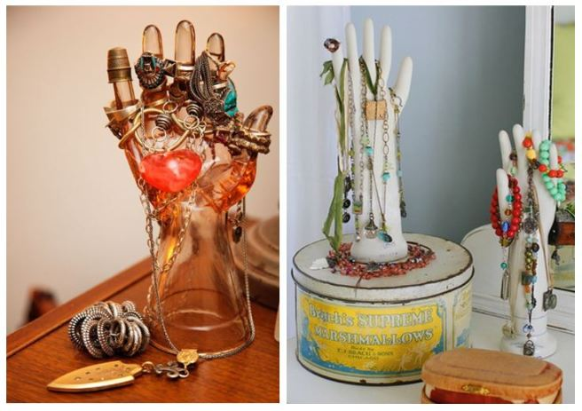 Casted Hand Jewellery Holder Organizer