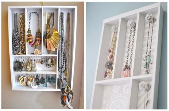 Cutlery Tray Jewellery Holder Necklace Organizer