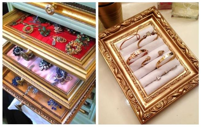 Picture Frame Jewellery Holder Organizer