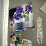 DIY Shabby Chic Organising Mail Pin Cork Board111