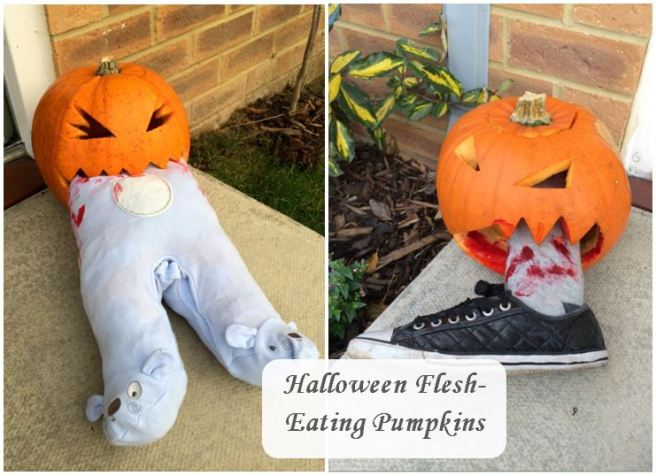 Halloween Flesh-Eating Pumpkins