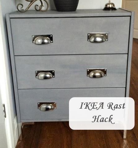 Ikea Rast hack makover remodel shoe storage