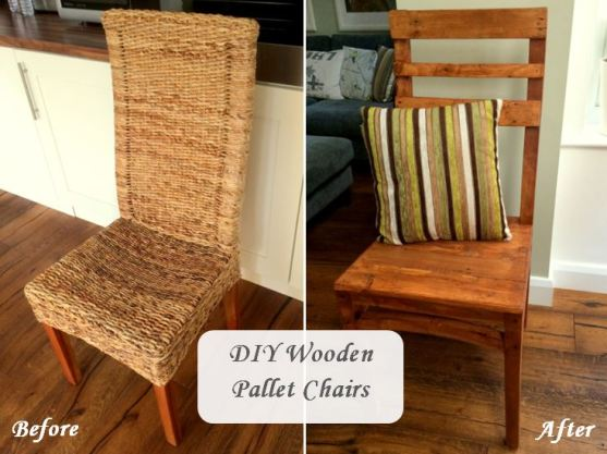 Wodden Pallet Chairs